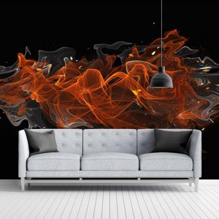 Fire-smoke-motion-grey-lounge
