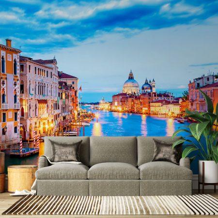 Venice-city-at-sunset